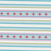 Sweet Divinity Cotton Fabric - Blue