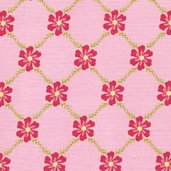 Sweet Divinity Cotton Fabric - Pink