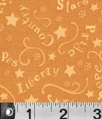 Sweet Liberty Fabric Collections  - Gold