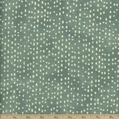 Moda Sweet Serenade Rough Dot Cotton Fabric - Teal