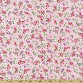 Sweet Shoppe Petite Nosegays Cotton Fabric - Rose 03646-01