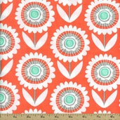 Sweetheart Hello Sunshine Cotton Fabric - Peach