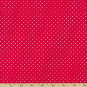 Sweetie Pie Little Dot Cotton Fabric - Red 03652-10