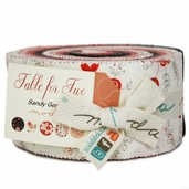 Table for Two Jelly Roll Fabric