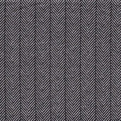 Tailor Made Flannel Fabric - Black and White