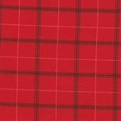 Tailor Made Flannel Fabric Collection - Red - CLEARANCE