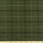 Tailor Made Flannel Fabric - Hunter Green TAILOR-CF7983