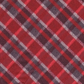 Tailor Made Flannel Fabric - Red
