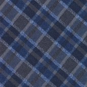 Tailor Made Flannel Fabrics - Blue