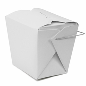Take Out Boxes 16 oz. 50 Count - White