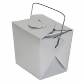 Take Out Boxes - Small - Silver - Pkg. of 12