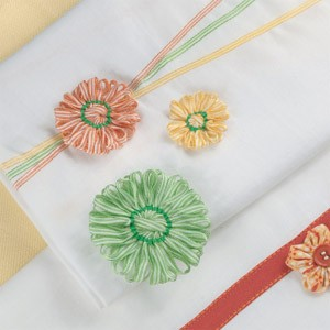 Tea Towels with Flowers