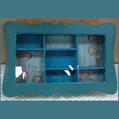 Teal Vintage Jewelry Box