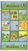 Ten Little Things Cotton Fabric Panel 30500-12