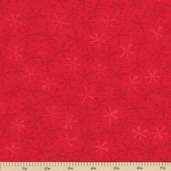 Ten Little Things Dots Twinks Cotton Fabric - Red - CLEARANCE