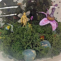 Terrarium Garden Fairies