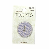 Textures Ceramic Buttons - Lavender Herring Bone