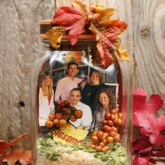 Thanksgiving Memory Jar