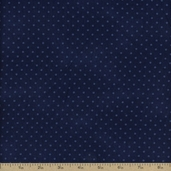 Buggy Barn Basics Cotton Fabric - Blue 7099-77