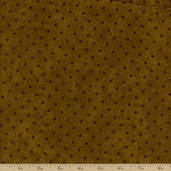 The Buggy Barn Essentials 8 Dot Flannel Fabric - Green