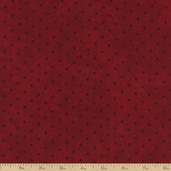 The Buggy Barn Essentials 8 Dot Flannel Fabric - Red