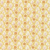 The Carmen Collection Cotton Fabric - Cream