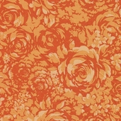 The Carmen Collection Cotton Fabric - Orange - CLEARANCE
