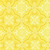 The Carmen Collection Cotton Fabric - Yellow - CLEARANCE