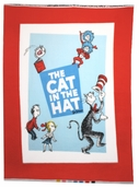 The Cat in the Hat Dreamie Fleece Panel - Celebration