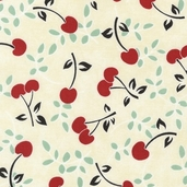 The Giving Garden Cotton Fabric - Ivory