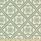 The Giving Garden Cotton Fabric - Sage