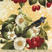 The Giving Garden Cotton Fabric - Summer