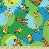 The Lorax Organic Cotton Fabrics - Bright