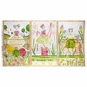 The Makers Happy Beginnings Panel Cotton Fabric - Multi