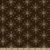 The Union Forever Cotton Fabric - Brown R33-4967-0113
