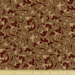 http://ep.yimg.com/ay/yhst-132146841436290/the-union-forever-cotton-fabric-scroll-beige-red-2.jpg