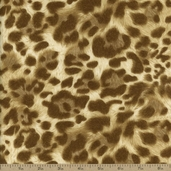 The Wild Side Cotton Fabric - Natural EKK-11562-14