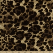 The Wild Side Cotton Fabric - Taupe EKK-11562-160