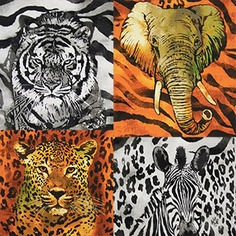 The Wild Side Fabric