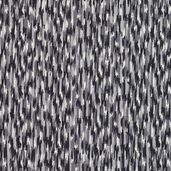 The Willow Collection Cotton Fabric - Black - CLEARANCE