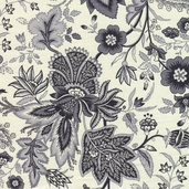 The Willow Collection Cotton Fabric - Cream- CLEARANCE