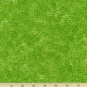 Tic Tac Cotton Fabric - Green 3135-G3