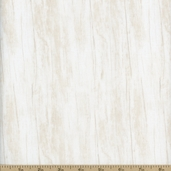 Tidepools Wood Texture Cotton Fabric - Off-White