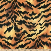 Tiger Skin Cotton Fabric - Ecru