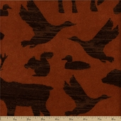 Timber Lodge Cotton Flannel Fabric - Earth ARLF-12617-169