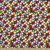 Timeless Treasures Fun Bubble Cotton Fabric - Bright - CLEARANCE