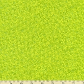 Tippy Toes Cotton Fabric Swirls - Green