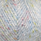 TLC Baby Yarn - powder Blue sparkle