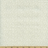Tone on Tone Floral Cotton Fabric - Tan TONE-3041 - Clearance