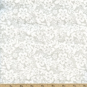 Tone on Tone Floral Cotton Fabric - Tint TONE-3054